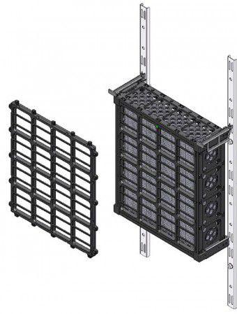 VGM® Green Wall Modules Incorporate Lightweight Durable Interlocking Panels